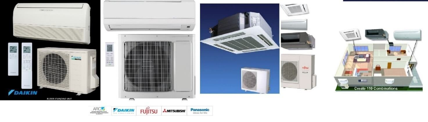 Advanced Reverse Cycle Split System or Heat Pump