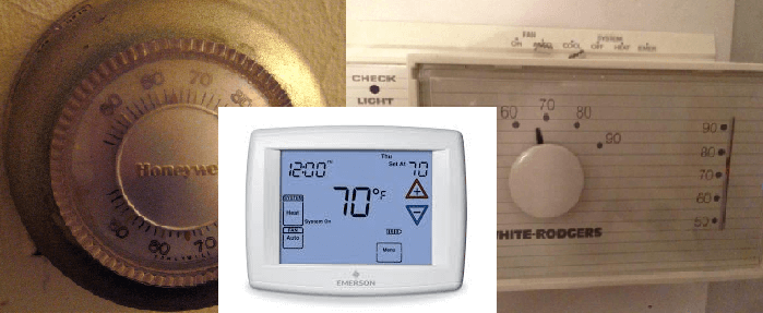 Thermostats or Temperature Controllers